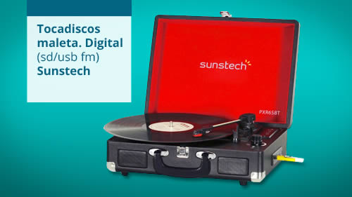 TOCADISCOS SUNSTECH