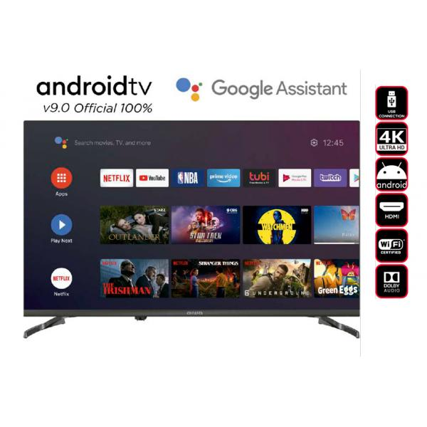 TV LED 50 UHD 4K SMART TV ANDROID 9.0