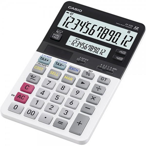 CALCULADORA CASIO 2 PANTALLAS JV220