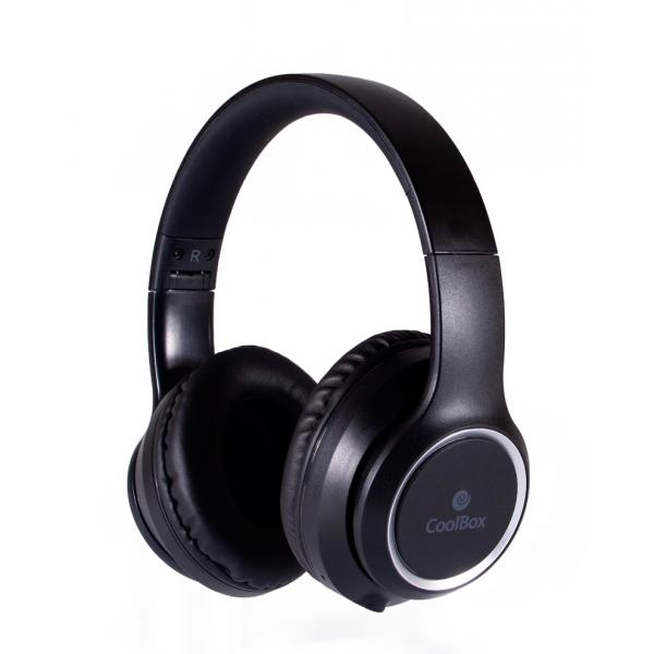 AURICULAR BLUETOOTH NEGRO COOLBOX