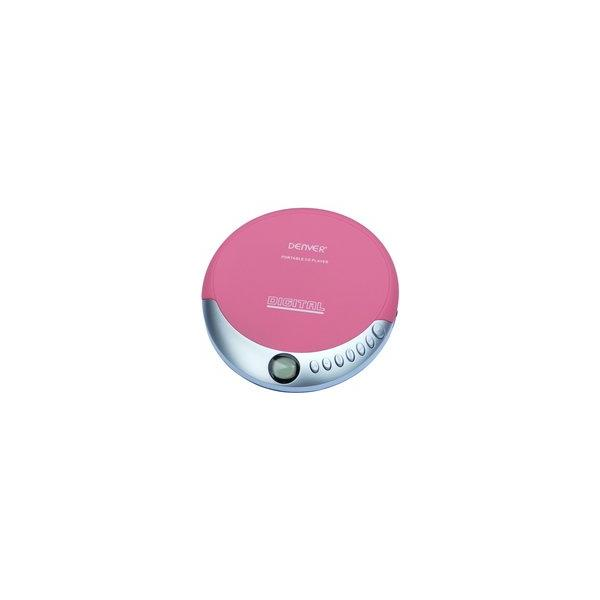 DISCMAN MP3 ANTISHOCK ROSA DENVER