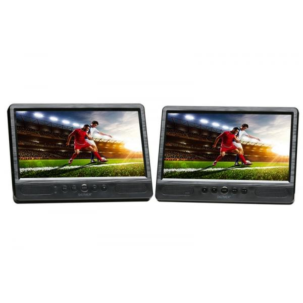 DVD PORTATIL 10.1 DOBLE PANTALLA DENVER