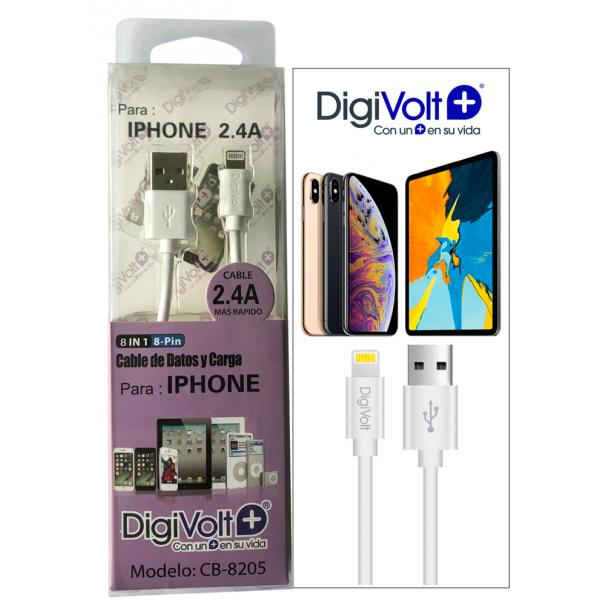 CABLE PARA IPHONE LIGHTNING DIGIVOLT