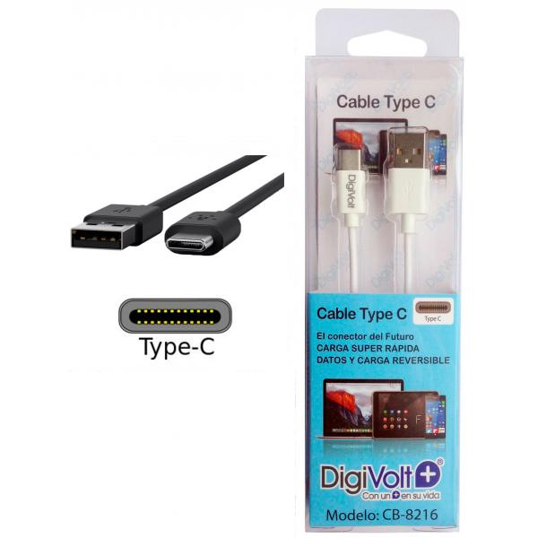 CABLE TYPE C A USB  DIGIVOLT