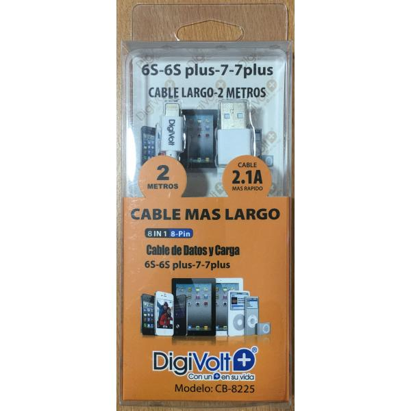 CABLE DE DATOS Y CARGA 2.1 A DIGIVOLT 8225
