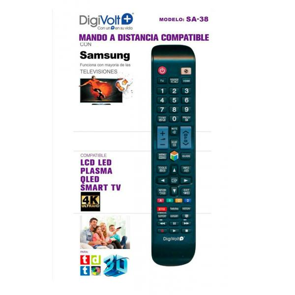 MANDO TV SUSTITUTO SAMSUNG GRAND.DIGIVOL
