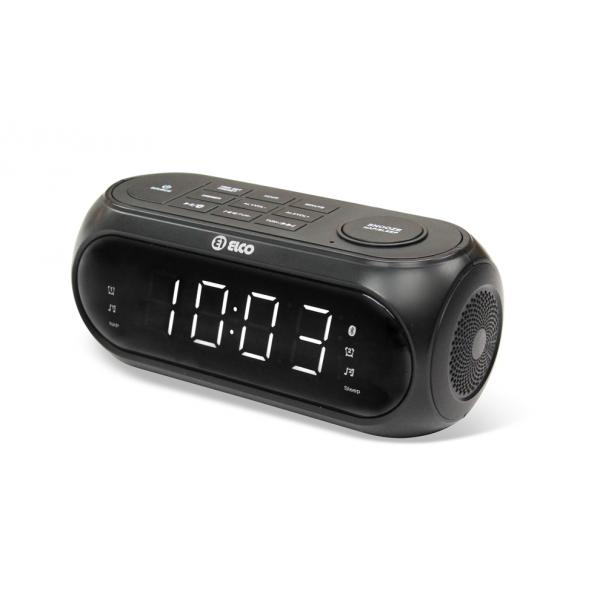 RADIO RELOJ DESPERTADOR BLUETOOTH ELCO