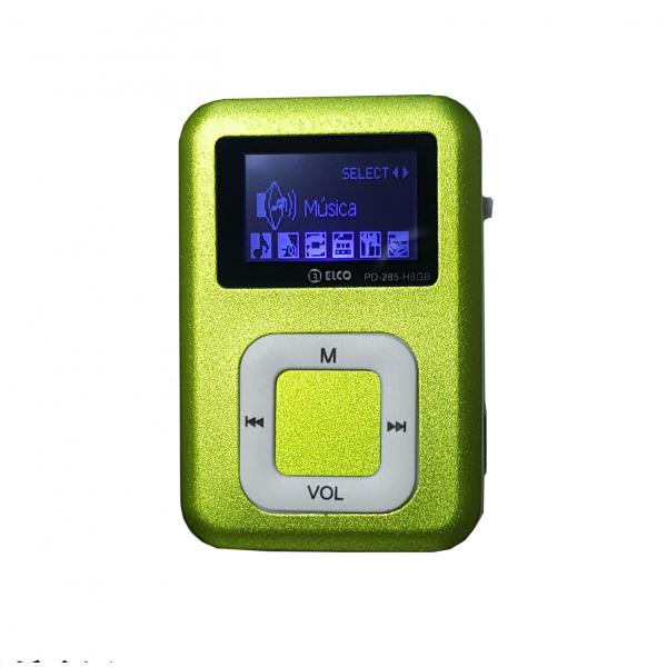 MP3 FM 8GB VERDE ELCO