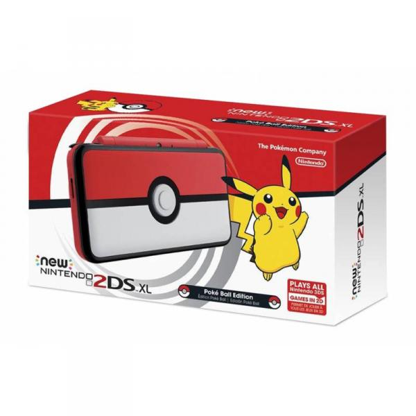 CONSOLA NEW 2DS XL POKEBAL EDITION