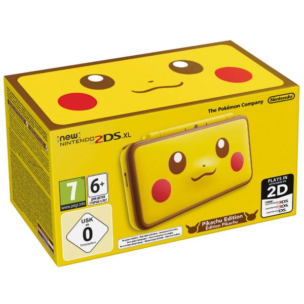 CONSOLA NEW 2DS XL PIKACHU EDITION