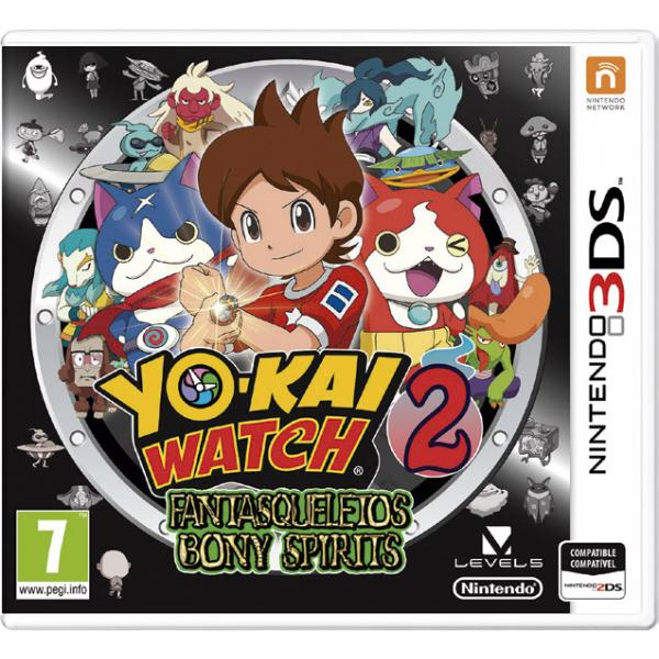 GB.3D YO KAI WATCH 2:FANTASQUELETOS+MEDA