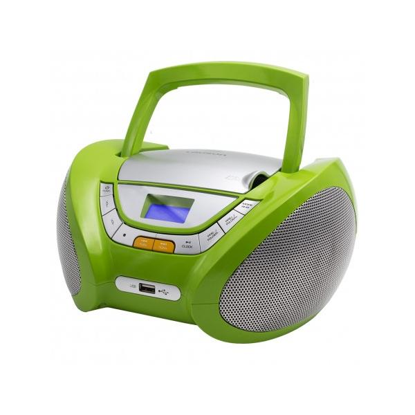 RADIO CD MP3 USB VERDE LAUSON
