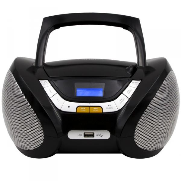 RADIO CD MP3 USB NEGRO LAUSON
