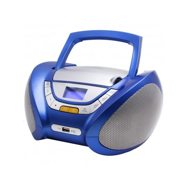 RADIO CD MP3 USB AZUL LAUSON