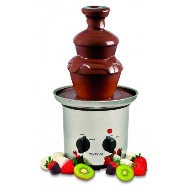 FUENTE DE CHOCOLATE INOX MX ONDA