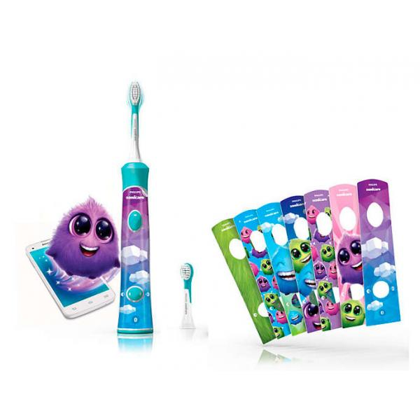 CEPILLO DENTAL SÓNICA INFANTIL A 31.000 M.PHILIPS HX6322