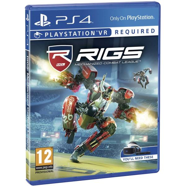 PS4 RIGS MECHANIZED COM LEEGUE VR