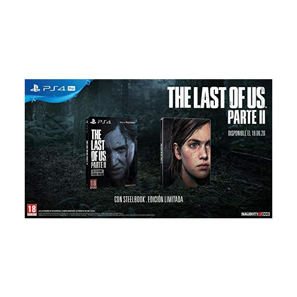PS4 THE LAST OF US II ED. ESPECIAL