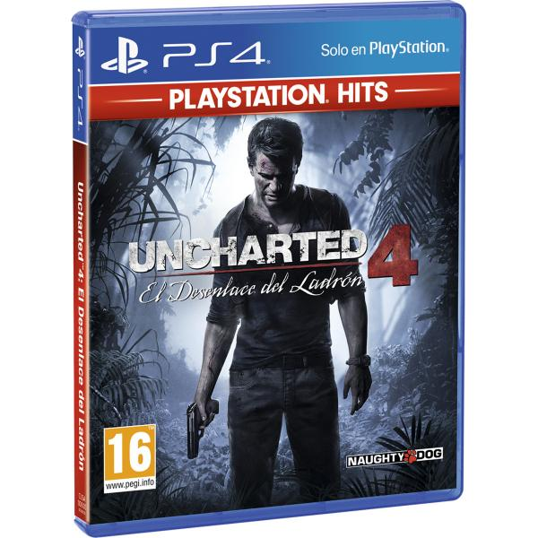 PS4 UNCHARTED 4 HITS