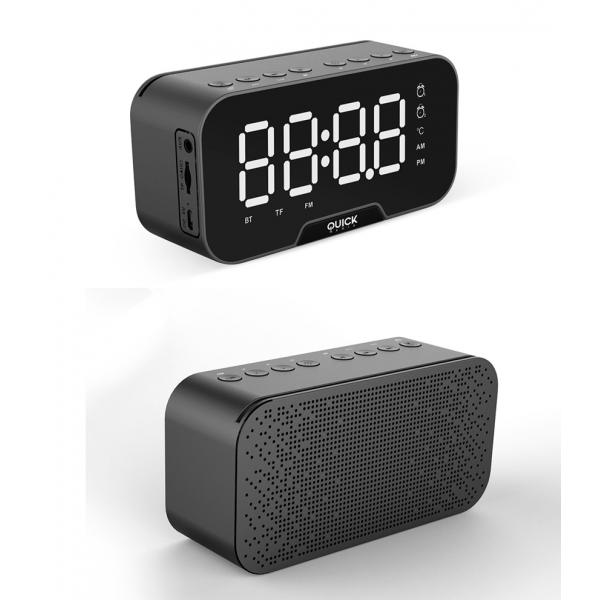 ALTAVOZ BLUETOOTH DESPERTADOR QUICKMEDIA