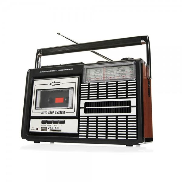 RADIO CASSETTE RETRO RICATECH
