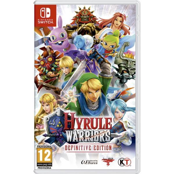 SWITCH HYRULE WARRIORS DEFINITIVE EDI.