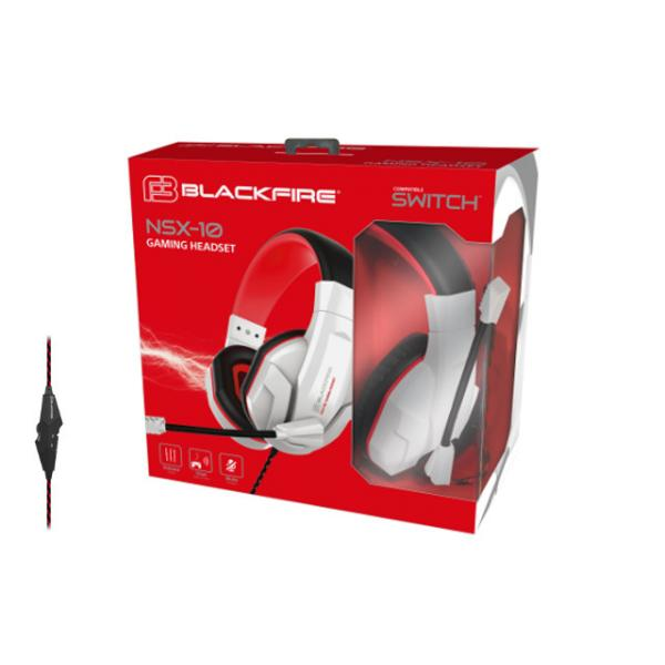 AURICULAR BLACKFIRE GAMING HEADSET SWITC