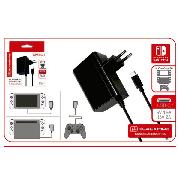 SWITCH ADAPTADOR CORRIENTE BLACKFIRE
