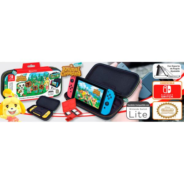 FUNDA SWITCH TRAVEL CASE ANIMAL CROSSING