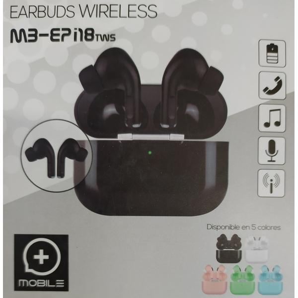 AURICULAR TWS 5.0 EARBUD MOBILE+  I18